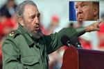 Trump'tan Fidel Castro için çok sert sözler!
