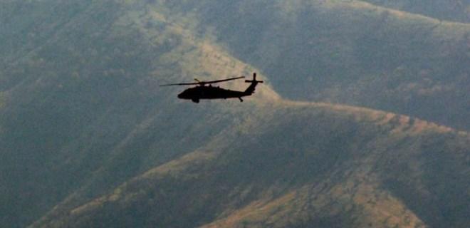 Cudi Dağı'nda hava destekli PKK operasyonu!