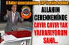 "A Haber sunucusu Erkan Tan; CHP'li Aykut Erdoğdu'ya ""Allah'ım bu CHP'li vekili cehennemine cayır..."