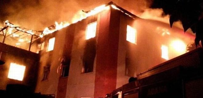 Yurt yangınıyla ilgili bilirkişi raporu açıklandı