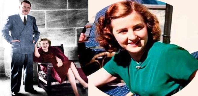 Hitler'in karısının anadan doğma fotoğrafları bulundu!