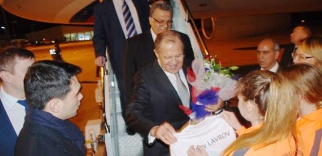 Rusya Dışişleri Bakanı Sergey Lavrov Alanya'da!