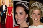 Prenses Diana'nın tacı Kate'e geçti