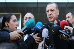 Cumhurbaşkanı Erdoğan'dan patlama açıklaması