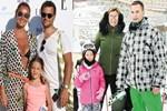 Atacan ailesinin yaz - kış keyifleri yerinde