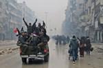 Halep'te ölü ve yaralılar var!...