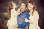 Ceyda Düvenci ve Bülent Şakrak'tan romantik kutlama