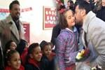Emre Altuğ köy okullarını gezdi