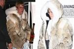 Justin Bieber kürküyle şaşırttı