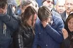 Rıdvan Dilmen annesini gözyaşlarıyla uğurladı