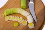 Tembel bağırsağa pırasa salatası
