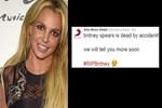 Britney Spears'ın öldüğü duyuruldu!