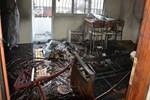 Aydın'da çıkan yangın evi kül etti!...