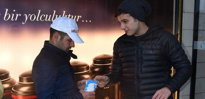 Mustafa Mert Koç, 3 çeyrek bilet aldı