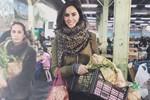 Zeynep Demirel'in organik alışverişi