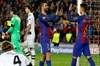 İspanyol basınının internet sayfalarında Barcelona - Borussia Mönchengladbach maçıyla ilgili haber...