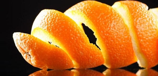 Portakal kabuklarını asla atmayın!...