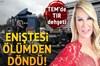 İstanbul Gaziosmanpaşa'da TEM otoyolu Ankara istikametinde kontrolden çıkan bir TIR ilk önce...