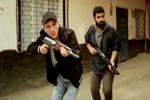 Polisten dizi setine 'uzun namlulu silah' baskını!