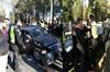İstanbul'da bulunan Cumhurbaşkanı Recep Tayyip Erdoğan'ın konvoyunda 3 aracın karıştığı zincirleme...
