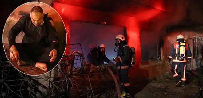 Zeytinburnu'nda feci yangın