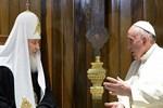 Papa-Patrik görüşmesi!