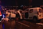 Ankara'da sabaha karşı feci bir kaza yaşadı!
