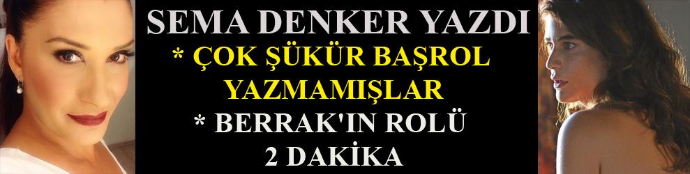 Sema Denker yazdı: