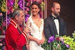 Merve Büyüksaraç ve Gökhan Ciner evlendi