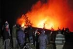 Marmaris'te durdurulamayan orman yangını!