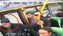 4 kişilik çete yolcuları böyle soydu