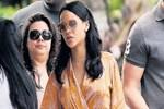 Rihanna Miami'de mola verdi