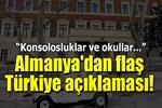 Almanya'dan yeni Türkiye açıklaması!