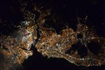 Amerikalı astronottan 'İstanbul' paylaşımı
