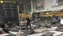 Brüksel'de korkunç patlama!