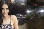 Semra Güzel trafik kazası geçirdi!