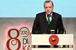 Erdoğan'dan 8 Mart resepsiyonu