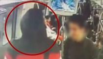 İstanbul metrosunda dehşet saçtılar!