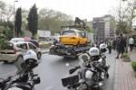 Yunus ekibi Şişli'de kaza yaptı