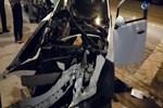 Aşırı hızla gelen korkunç trafik kazası!..