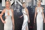 Jennifer Lawrence yine düştü!