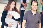 Mahsun Kırmızıgül eşi ve bebeğiyle yurda döndü