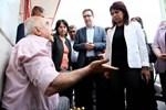 Diyarbakır'da Sur esnafını ziyaret eden HDP'lilere tepki