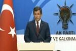 Başbakan Davutoğlu'dan beklenen açıklama!