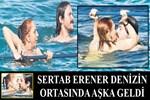 Sertab Erener denizin ortasında aşka geldi!