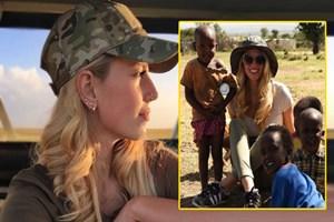 Dilara Öztunç Kenya'ya gitti!