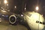Havalimanında korkutan kaza!