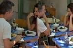Ekin Türkmen ve Tugay Mercan muhabirlere yüz vermedi