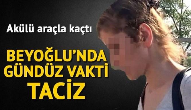 Beyoğlu'nda adres sordu, tacize uğradı