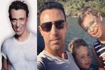 Mustafa Sandal'dan 'baba' selfie!..